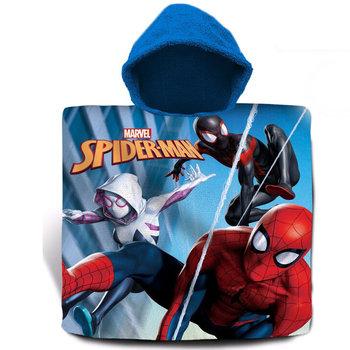 Kids Euroswan, Poncho kąpielowe, Spiderman, 120x60 cm-Kids Euroswan