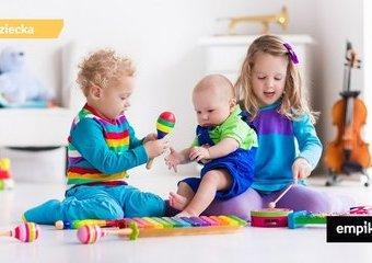 Kiedy zabawa staje się sztuką - zabawki muzyczne