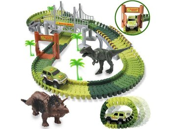 KIK, duży tor samochodowy Park Dinozaurów, 240 el.-KIK