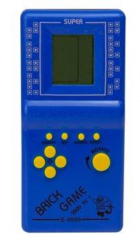 KIK, gra Gierka Eletroniczna Tetris, 9999in1 niebieska-KIK