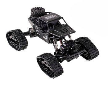 KIK, samochód zdalnie sterowany RC Rock Crawler 4x4 LHC012, 2w1 czarn-KIK