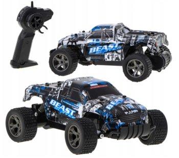KIK, samochód zdalnie sterowany RC Rock Crawler Climbing 1/18, niebieski-KIK