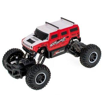 Kik, samochód zdalnie sterowany RC Rock Crawler Hummer 1:20 4WD, czerwony-KIK