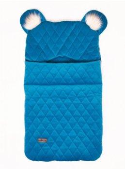 Kinder Hop, Śpiworek fotelikowy, Deep Blue, U, 80x45 cm, 6w1 -Kinder Hop