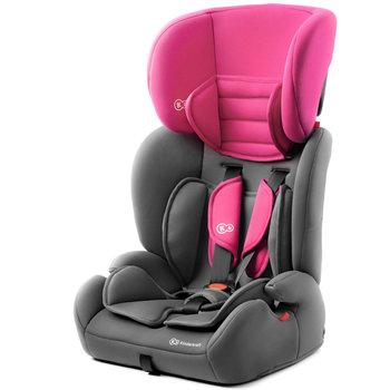 Kinderkraft, Concept, Fotelik samochodowy, Czarny/Różowy, 9-36 kg-Kinderkraft