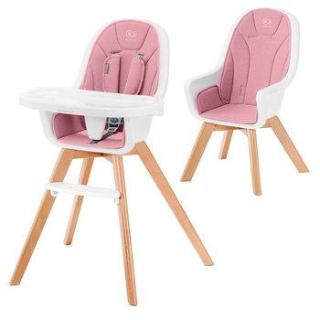 Kinderkraft, Tixi, Krzesełko do karmienia, drewniane, 2w1 -Kinderkraft