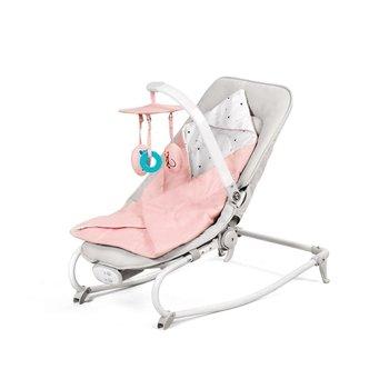 Kinderkraft, Wielofunkcyjny leżaczek, Felio, Pink-Kinderkraft