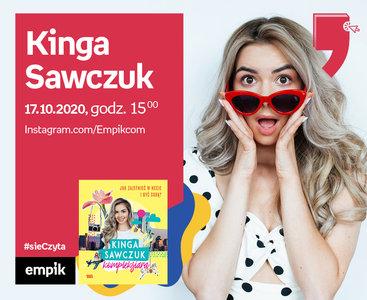 Kinga Sawczuk – Spotkanie   Wirtualne Targi Książki. #sieCzyta
