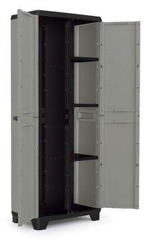 KIS Planet Multipurpose Cabinet Black/Union Grey-Kis