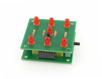 Kity AVT, zabawka edukacyjna Elektroniczna kostka do gry, AVT1661-Kity AVT