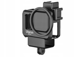 Klatka Ramka Frame Mount + Adapter Mikrofon Filtry Iso Do Gopro Hero 9 Black / Ulanzi G9-4