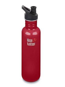 Klean Kanteen, Bidon, Classic Sport Cap, czerwony, 800 ml-Klean Kanteen