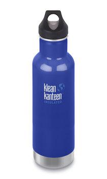 Klean Kanteen, Butelka termiczna, Classic Vacuum Insulated (mit Loop Cap) 20oz, Coastal Waters, 592 ml-Klean Kanteen
