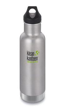 Klean Kanteen, Butelka termiczna, Classic Vacuum Insulated, srebrny, 592 ml-Klean Kanteen