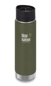 Klean Kanteen, Termos, Wide Vacuum Insulated (mit Café Cap 2.0) 20oz, Fresh Pine (matt), 592 ml-Klean Kanteen