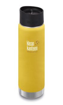 Klean Kanteen, Termos, Wide Vacuum Insulated (mit Café Cap 2.0) 20oz, Lemon Curry (matt), 592 ml-Klean Kanteen
