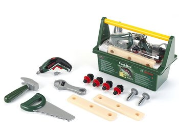 Klein, zabawka edukacyjna Skrzynka z narzędziami Bosch, zestaw-Klein