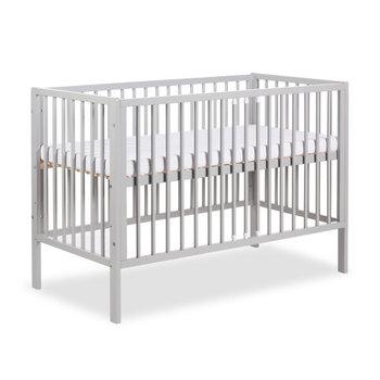 Klupś, Radek X, Łóżeczko niemowlęce, Szary, 60x120 cm -Klupś
