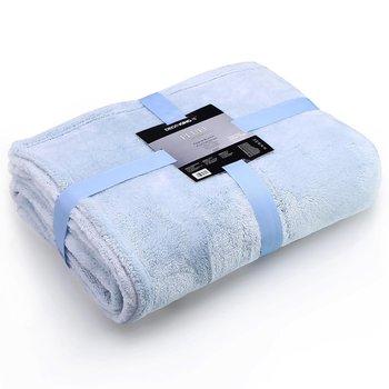 Koc Fluff, błękitny, 220x240 cm-DecoKing