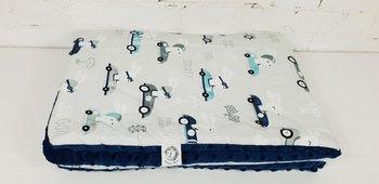 Kocyk Średniaka Pędzący Królik 75x100 cm poseidon-MIA home