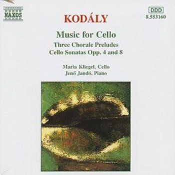 Kodály: Music for Cello-Kliegel Maria
