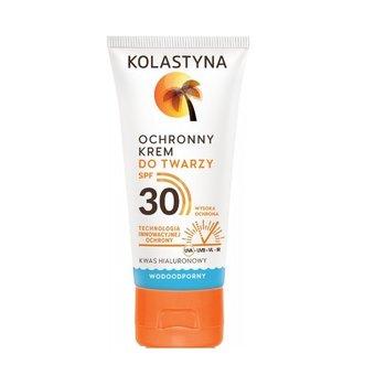 Kolastyna, Opalanie, krem ochronny do twarzy, wodoodporny, SPF30, 50 ml-Kolastyna