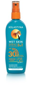 Kolastyna, Wet Skin, spray do opalania, SPF 30, 150 ml - Kolastyna