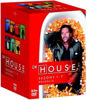 Kolekcja dr house sezony 1 7 dvd shore david filmy sklep empik com Dr house sklep