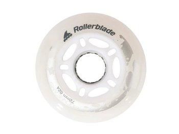 Kółka świecące do rolek Rollerblade Moonbeams Led WH 72mm/82A 4 Szt..-Rollerblade