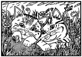 Kolorowanka Welwetowa Koty Painting Velvet Sklep Empikcom