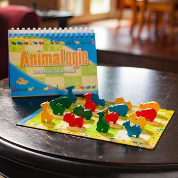 Kolorowe Baloniki, gra logiczna Zwierzęca Logika-Kolorowe Baloniki