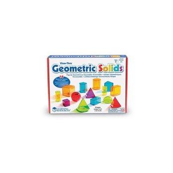 Kolorowe bryły - zestaw 14 szt.Kolorowe bryły - zestaw 14 szt.-Learning Resources
