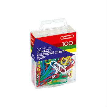 Kolorowe spinacze 28 mm - 100 sztuk-CreativeHobby
