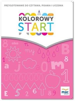 Kolorowy start. 5 i 6 latki. Przygotowanie do nauki czytania, pisania, liczenia-Żaba-Żabińska Wiesława