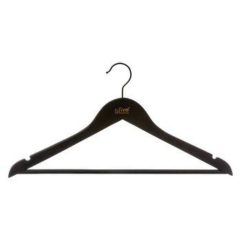 Komplet wieszaków na ubrania 5FIVE SIMPLE SMART, czarny, 3 szt.-5five Simple Smart