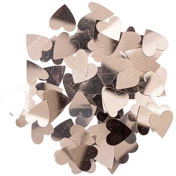 Konfetti metalic, serca różowe złoto-Ohhh! Lovely!