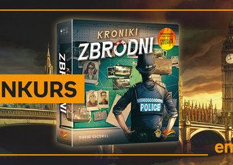 WYNIKI KONKURSU: Kroniki zbrodni - wciel się w rolę detektywa i wygraj grę!