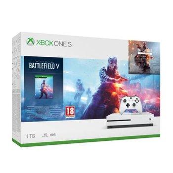 Konsola MICROSOFT Xbox One S, 1 TB + Battlefield V-Microsoft