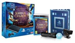 Konsola Playstation 3 + kamera + PlayStation Move + Księga Czarów