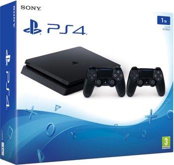 Konsola SONY PlayStation 4 Slim, 1 TB + 2 kontrolery-Sony