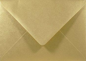 Koperta ozdobna, B6 NK, Sirio Pearl, Aurum złota