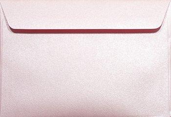 Koperta ozdobna, C6 NK, Majestic, Petal, różowa