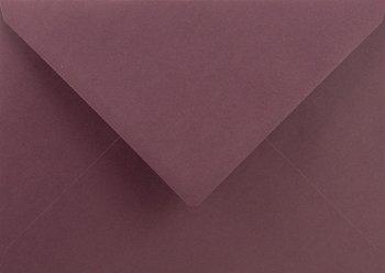 Koperta ozdobna, C6 NK, Sirio Pearl, Color Vino, fioletowa