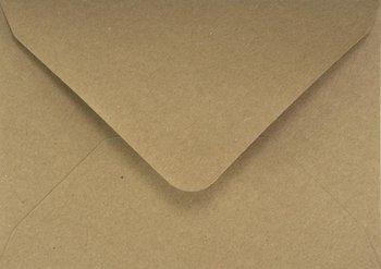 Koperta ozdobna, ekologiczna B6, brązowa