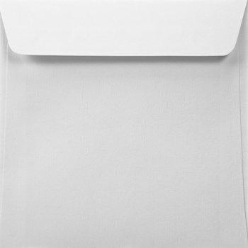 Koperta ozdobna, kwadratowa, K4 HK, Acquerello, Bianco biała