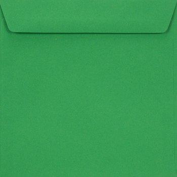 Koperta ozdobna, kwadratowa, K4 NK, Burano, Verde Bandiera, zielona