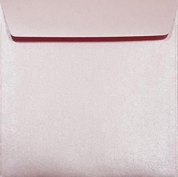 Koperta ozdobna, kwadratowa K4 NK, Majestic, Petal, różowa