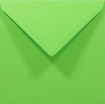 Koperta ozdobna, kwadratowa, K4 NK, Rainbow, zielona