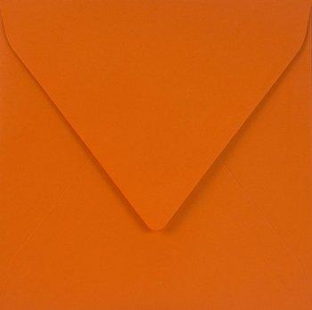 Koperta ozdobna, kwadratowa, K4 NK, Sirio Color, Arancio, pomarańczowa