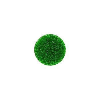 Koraliki ozdobne, okrągłe, zielone, 17 g